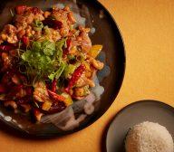Chicken Kung Pao With Cashew & Steamed Jasmine Rice
