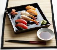 Nigiri-Zushi (Hand Shaped Sushi)