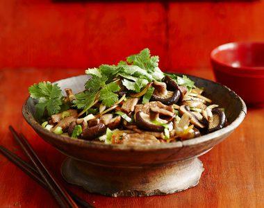 Teriyaki Pork & Mushroom Stir Fry