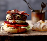 Aussie Beef Burger with The Works
