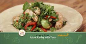 Asian Stir Fry with Tuna