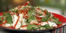 Chicken and Green Papaya Salad