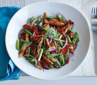 Sesame Chicken Stir Fry with Chinese Five Spice