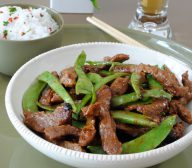 Honey and Soy Stir Fry Beef with Beans