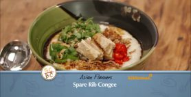 Kikkoman Spare Rib Congee Recipe