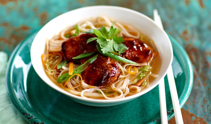 Sweet Chilli Pork in Noodle Broth