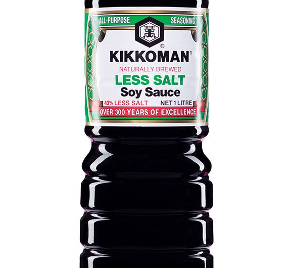 Naturally Brewed Less Salt Soy Sauce