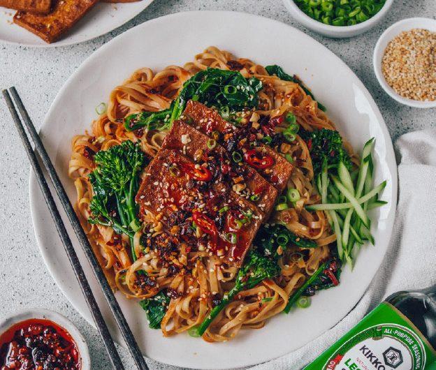 Chilli Garlic Sesame Noodles