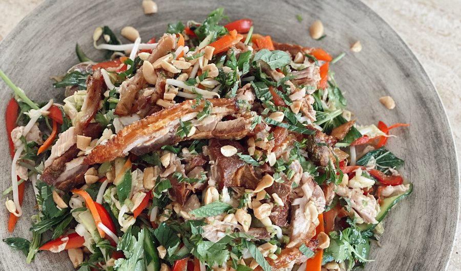 Vietnamese Pork Belly Salad