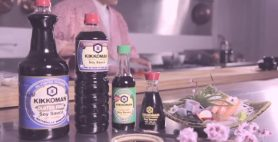 Hideo Dekura showcases Kikkoman Naturally Brewed Soy Sauce