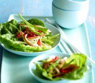 Chicken Stir Fry on Lettuce Cups