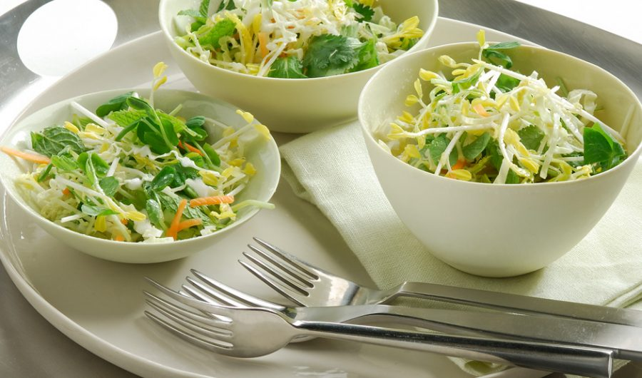 Coleslaw with a difference