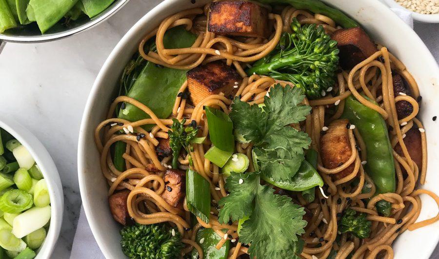 Soy & Sesame Soba Noodles
