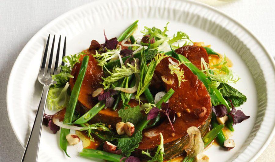 Soy Roast Pumpkin Salad
