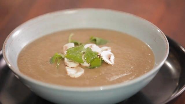 Spiced Mushroom Soup