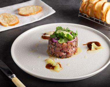 Soy Tuna Tartare with Sourdough
